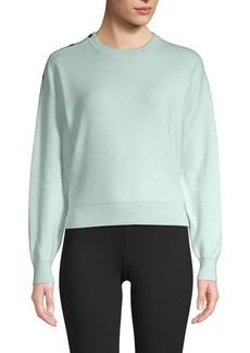 Maje Snap-Button Sweatshirt