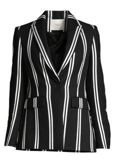 Maje Striped Blazer