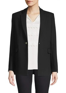 Maje Tailored Snap Blazer