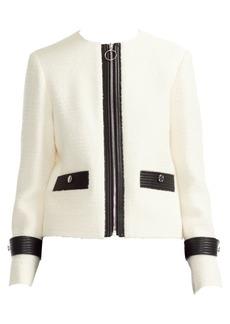 Maje Zip-Front Jacket
