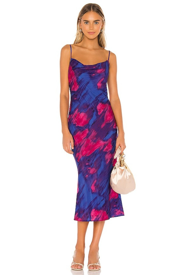 MAJORELLE Boston Midi Dress