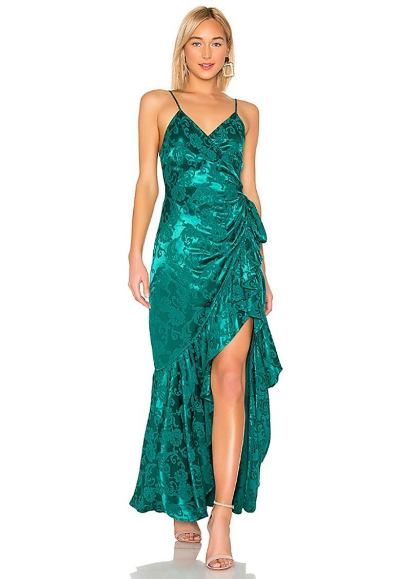 MAJORELLE Claudette Maxi Dress