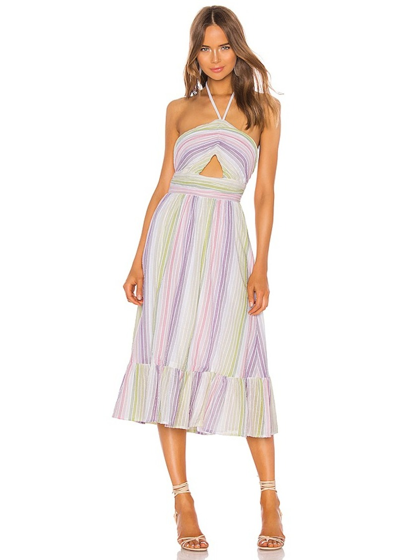 MAJORELLE Electra Midi Dress