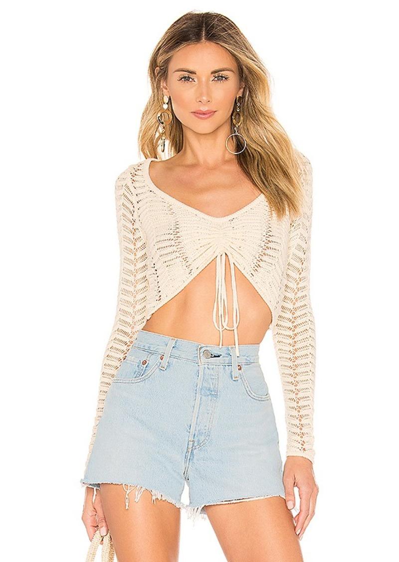 MAJORELLE Macadamia Sweater