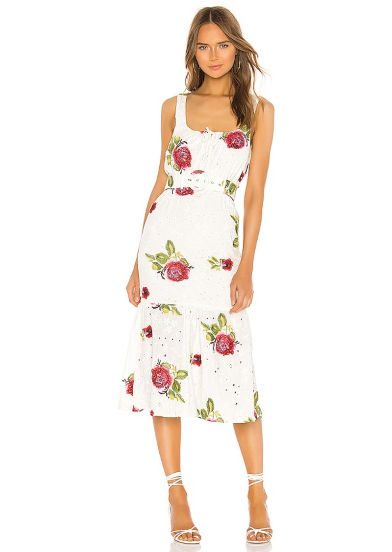 MAJORELLE Mariah Midi Dress