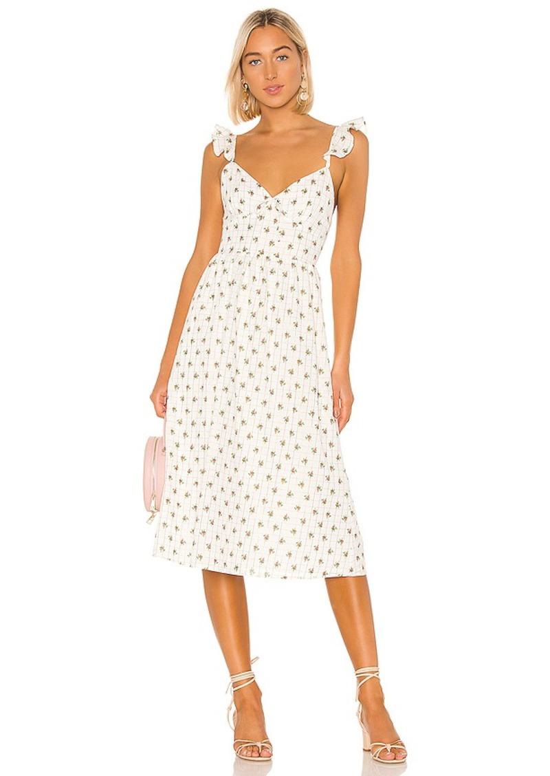 MAJORELLE Maura Midi Dress