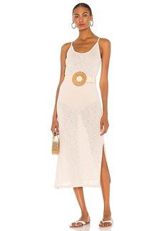 MAJORELLE Midi Slip Dress