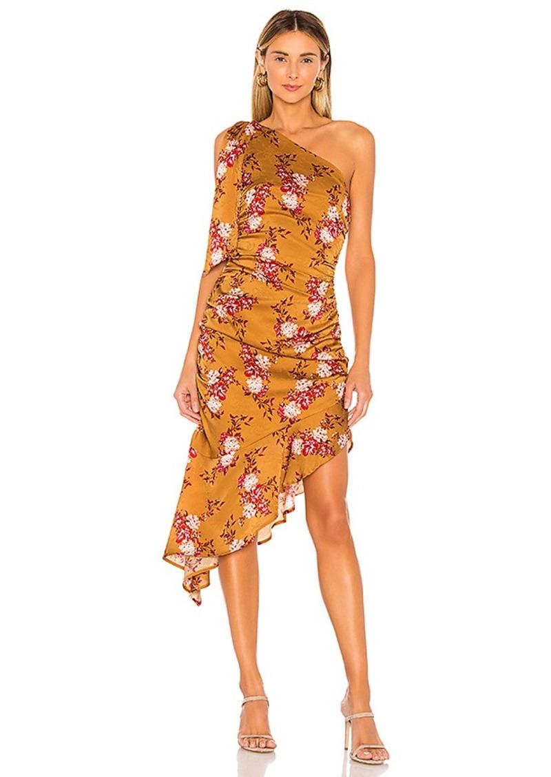 MAJORELLE Princeton Midi Dress