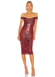 MAJORELLE Tabitha Midi Dress