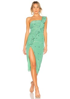MAJORELLE Tali Midi Dress
