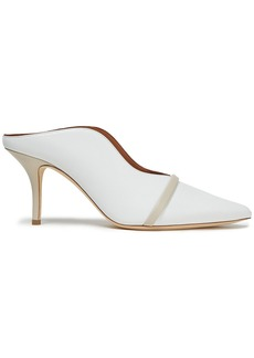 Malone Souliers Woman Constance 70 Leather Mules White