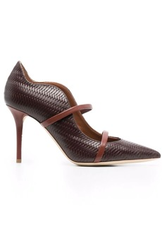 Malone Souliers Maureen leather 100mm pumps