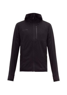 Mammut Delta X Ultimate V technical-jersey hooded jacket