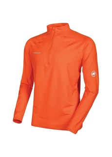 Mammut Men's MTR 141 Half Zip Longsleeve Top