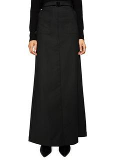 Mango Belted Maxi Skirt
