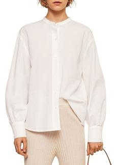 Mango Camisa Cotton Button-Down Shirt