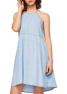 Mango Denim Fit-and-Flare Dress