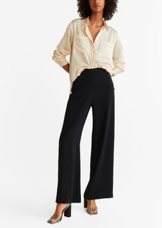 Mango Double Layer Trousers