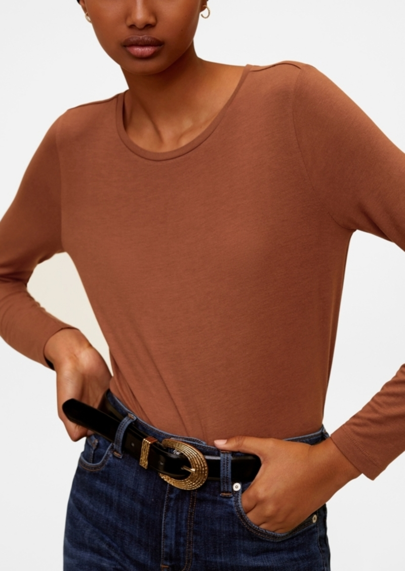 Mango Fine-Knit T-Shirt