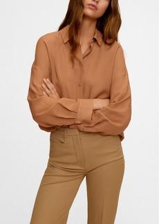 Mango Women's Flowy Shirt