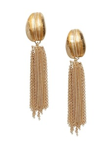 Mango Hugo Chain Dangle Earrings