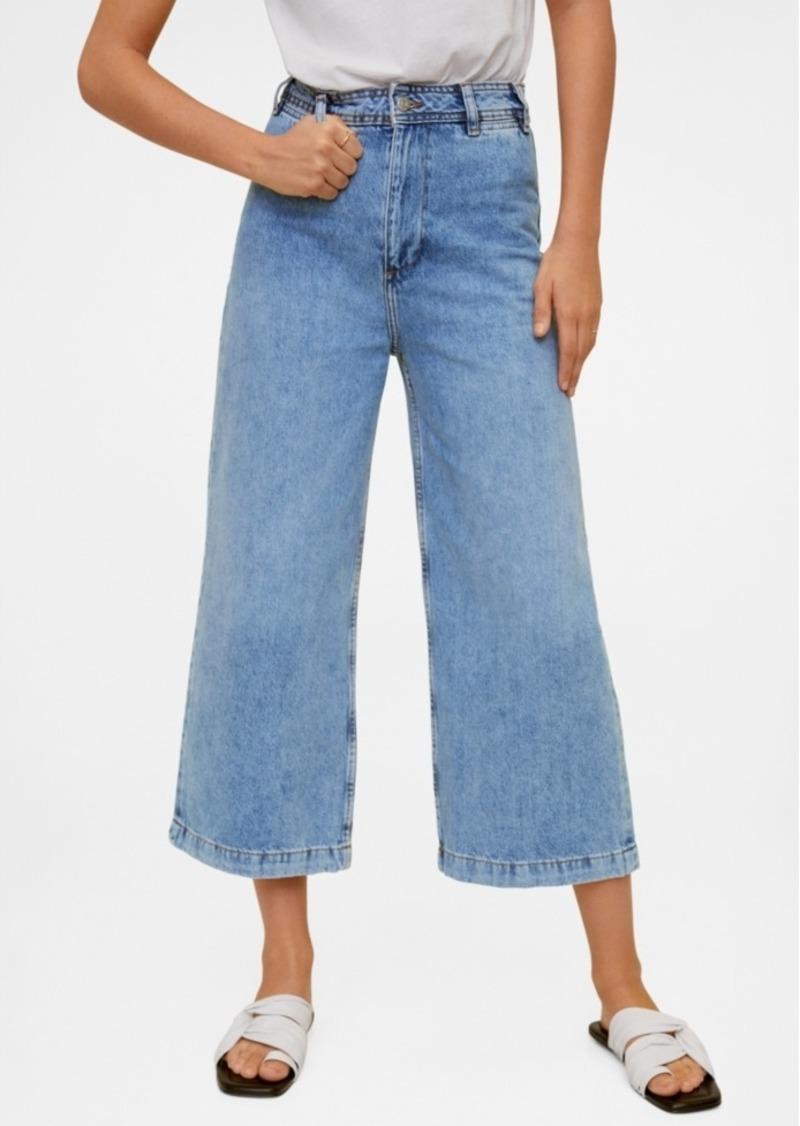 Mango Jeans Culotte High Waist