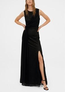 Mango Lace Detail Gown