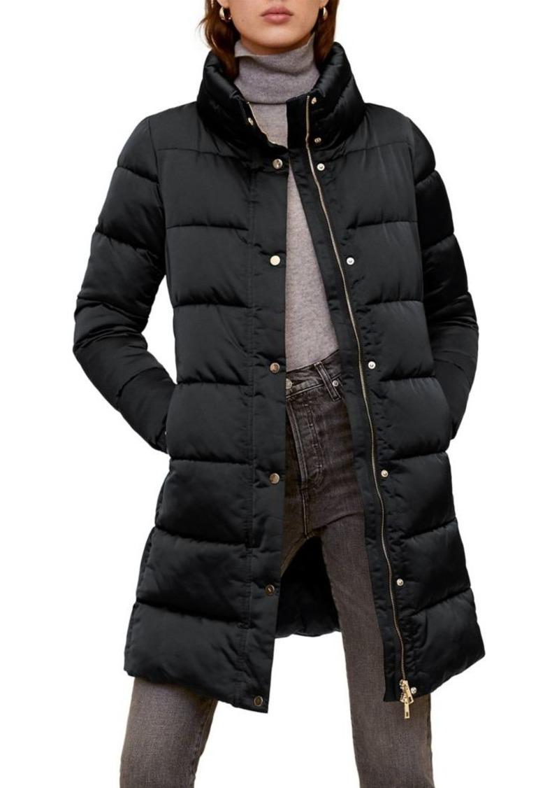 Mango Long Puffer Coat