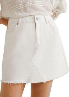 Mango Organic Denim Skirt