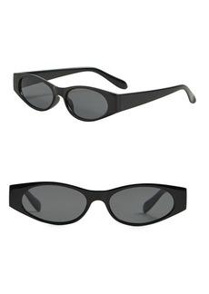 Mango Rectangular Framed Sunglasses