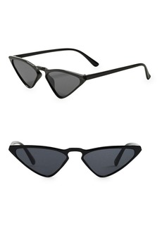 Mango Retro Butterfly Sunglasses