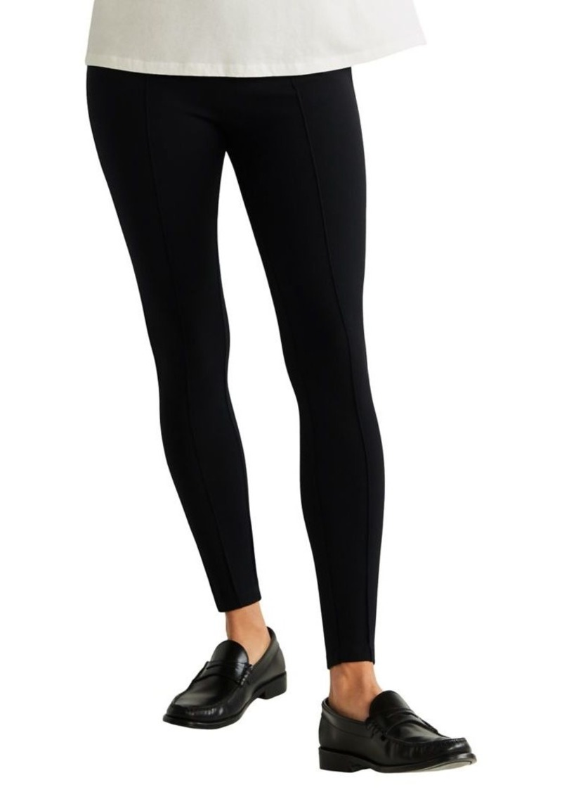Mango Seamed Leggings