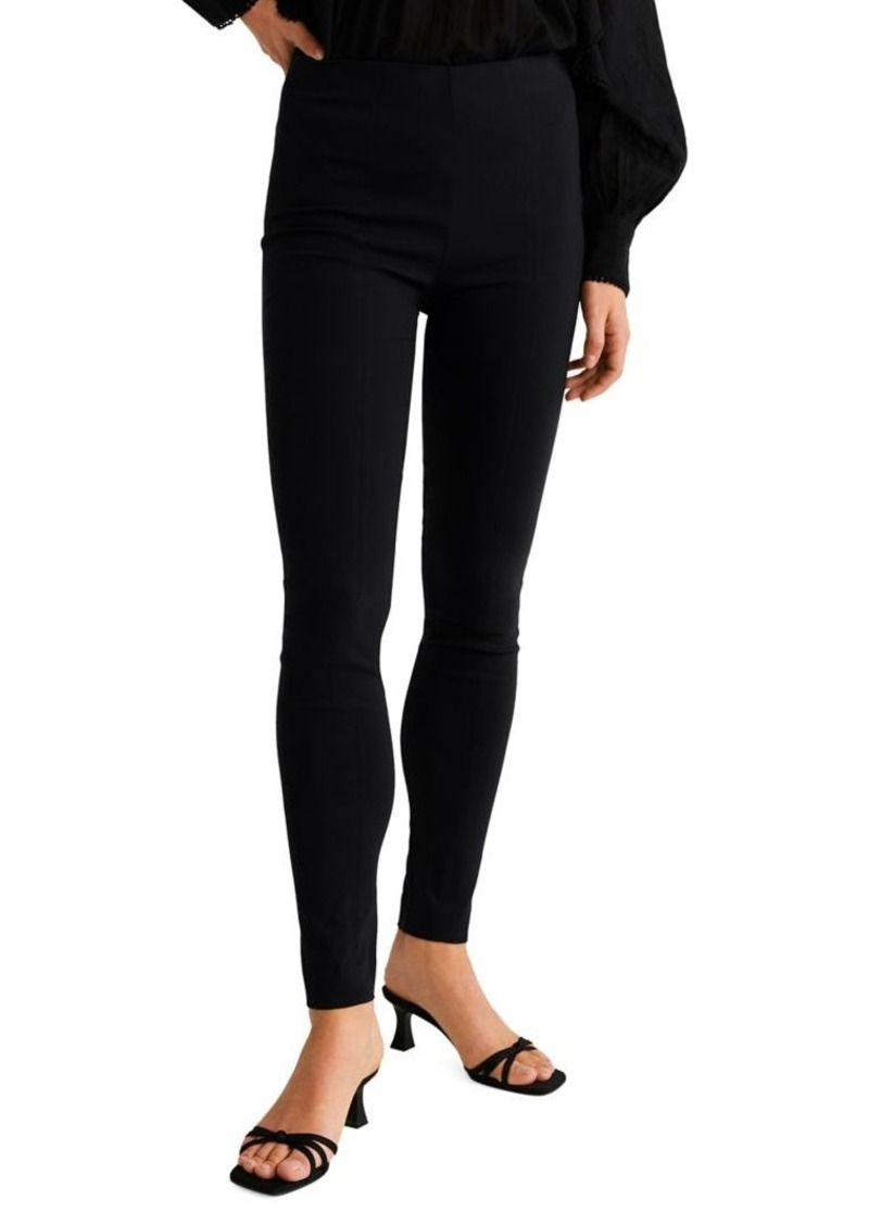 Mango Side Zip Leggings