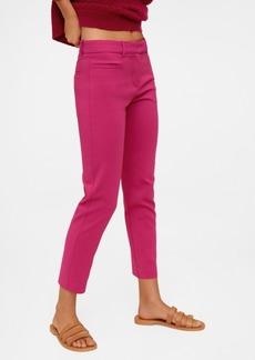 Mango Women's Cotton Crop Pants