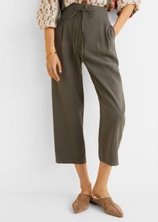 Mango Soft Straight Trousers
