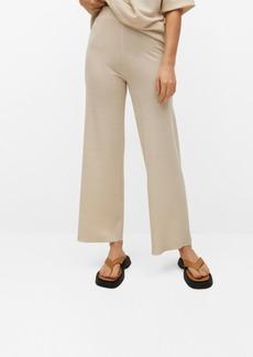 Mango Straight Knitted Pants