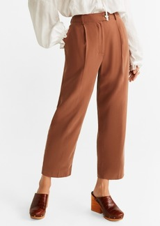 Mango Straight Long Pants