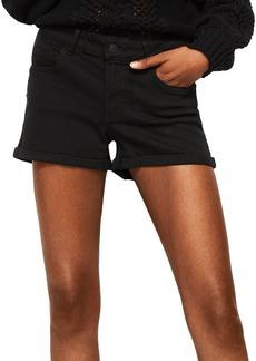 Mango Vicky Cuffed Denim Shorts