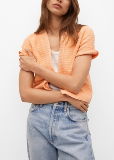 Mango Women's Cotton-Blend Cardigan