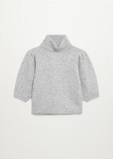 Mango Women's Crop Knit Sweater
