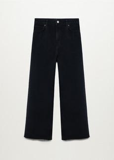 Mango Women's Culottes High Waist Jeans
