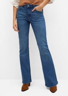Mango Women's Flared Jeans