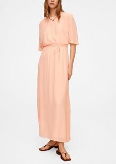 Mango Women's Flowy Long Dress