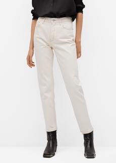 Mango Women's Mom-Fit Jeans