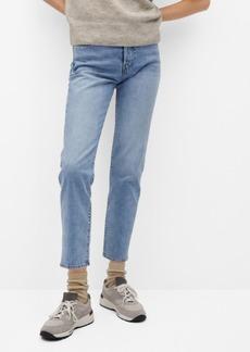 Mango Women's Straight Cotton Jeans