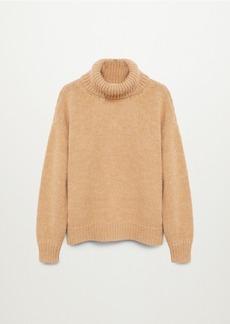Mango Women's Turtle Neck Wool Sweater