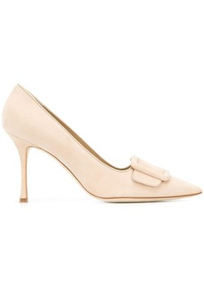 Manolo Blahnik buckle-detail pumps