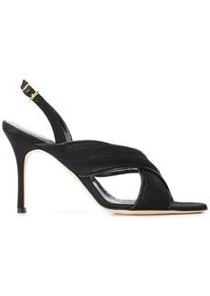 Manolo Blahnik Drapia sandals