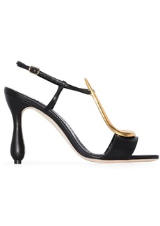 Manolo Blahnik embellished sandals
