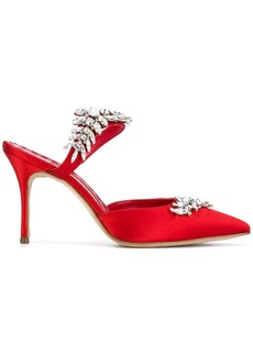 Manolo Blahnik Lurum embellished pumps